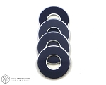 Blue-Navy VVashers™ - Set of 4